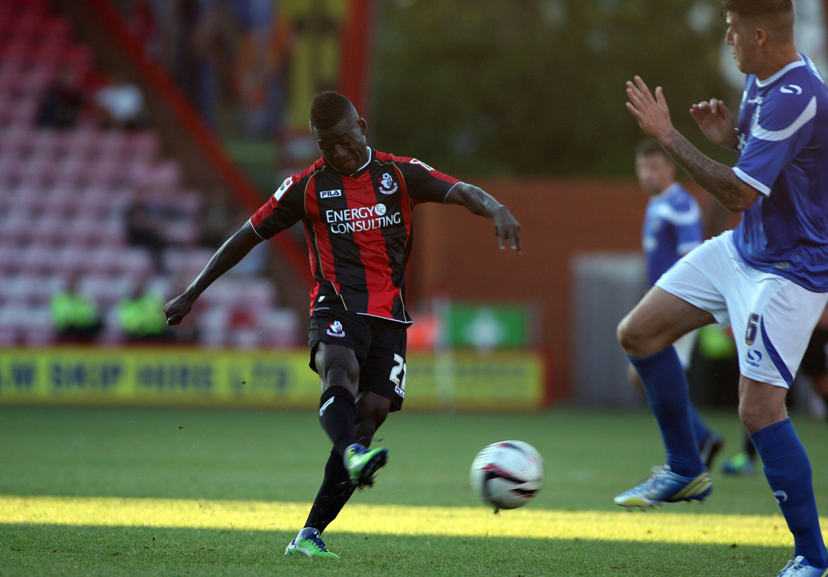 COMEBACK TRAIL: AFC Bournemouth winger Mohamed Coulibaly