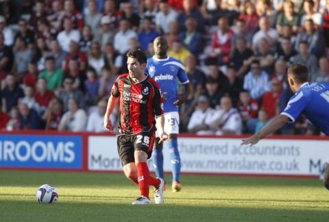 HANGING UP HIS BOOTS: Cherries' Richard Hughes