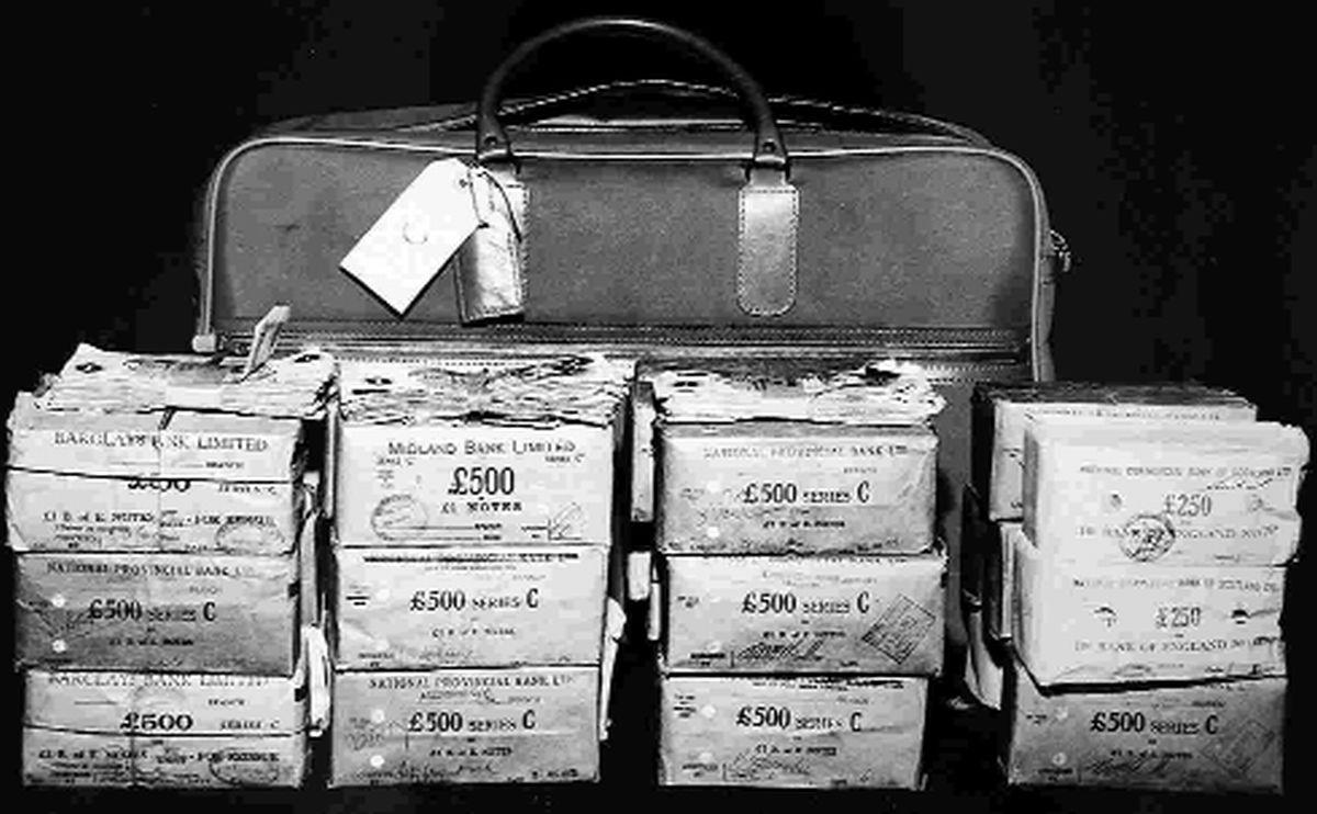 how great train robbery cash was uncovered in bournemouth