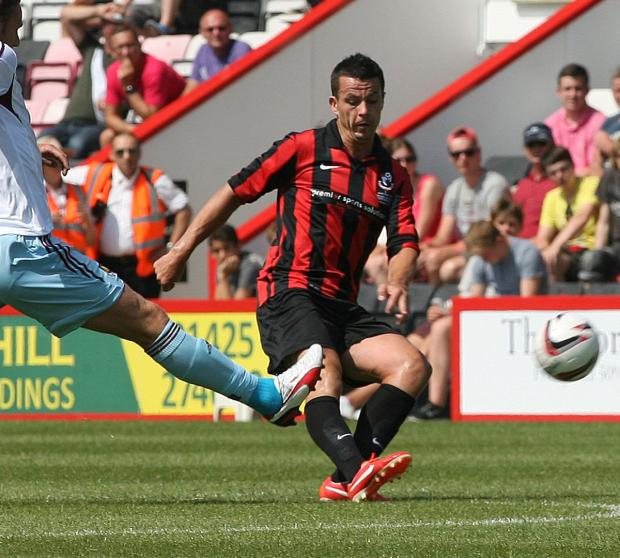 CLASS ACT: Cherries defender Ian Harte