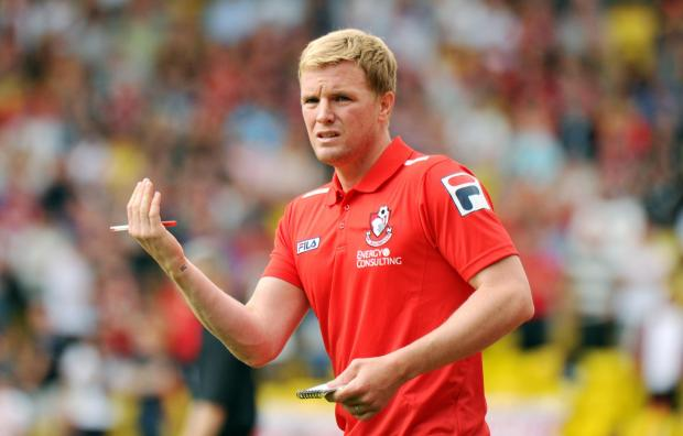 SEEKING A STRONG FINISH: AFC Bournemouth boss Eddie Howe
