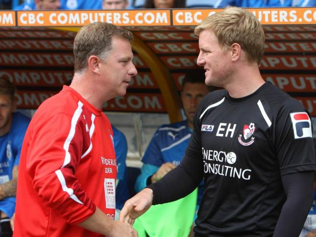 AFC Bournemouth: Howe has sympathy for axed rival Robins