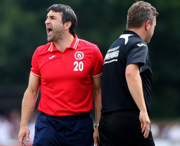 DOWNBEAT: Poole Town boss Tom Killick