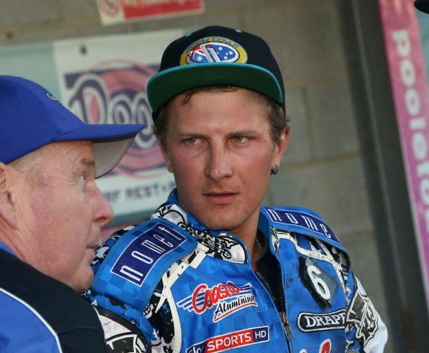 BUSY MAN: Poole Pirates star Josh Grajczonek