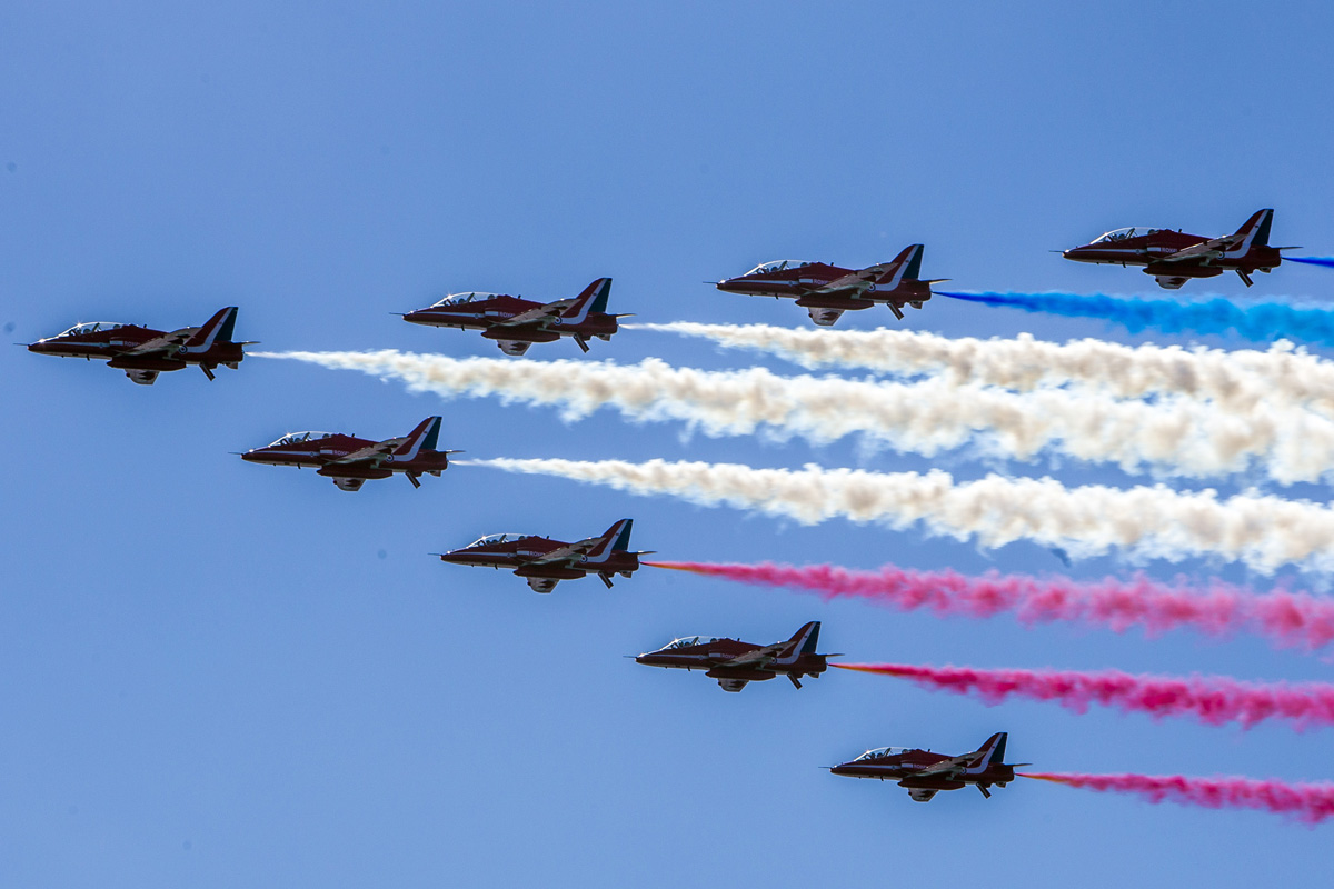 Red Arrows fun day to mark associations 20th anniversary