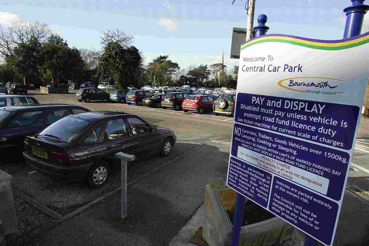 Bournemouth Car Park Charges