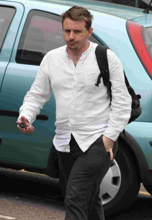 GUILTY: Karl Jones at Bournemouth Magistrates Court