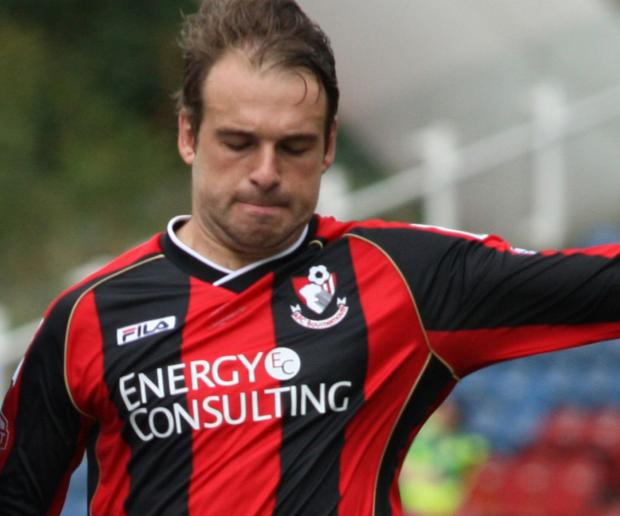 STRIKER: Brett Pitman