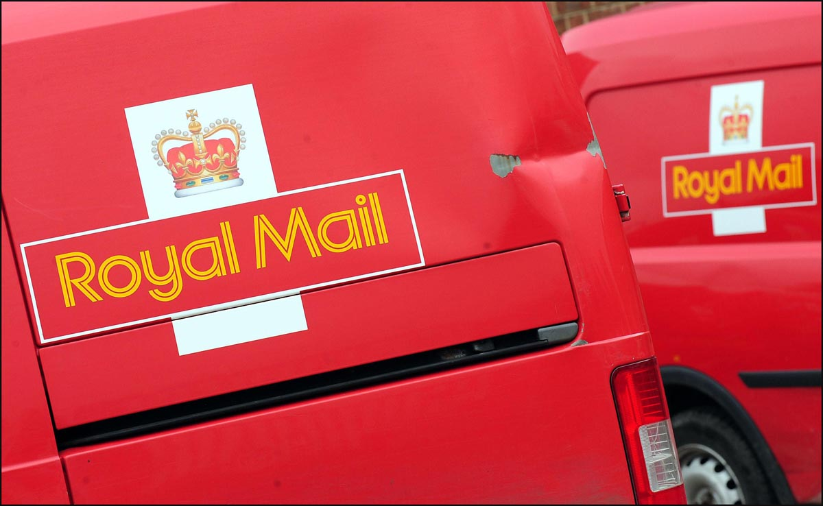 Parcels stolen after Royal Mail van taken as driver emptied post box