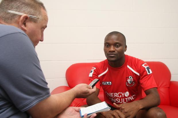 DADDY COOL: Tokelo Rantie gives an exclusive interview to the Daily Echo