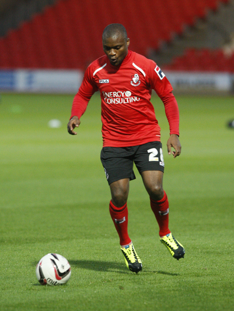CALL UP: Cherries striker Tokelo Rantie