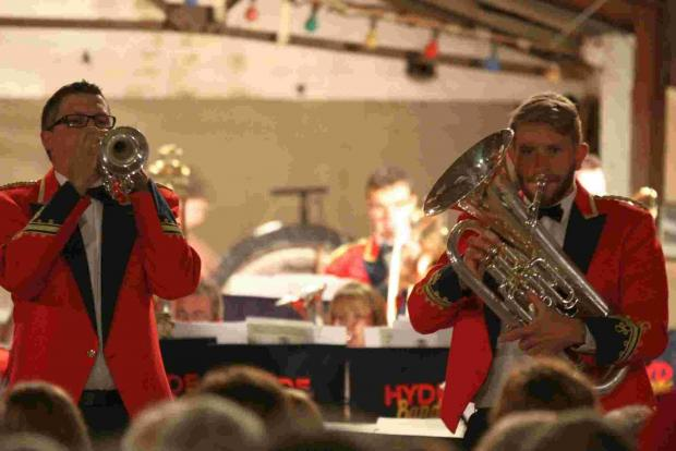 Bournemouth Echo: Hyde Band perform their Last Night of the Proms
