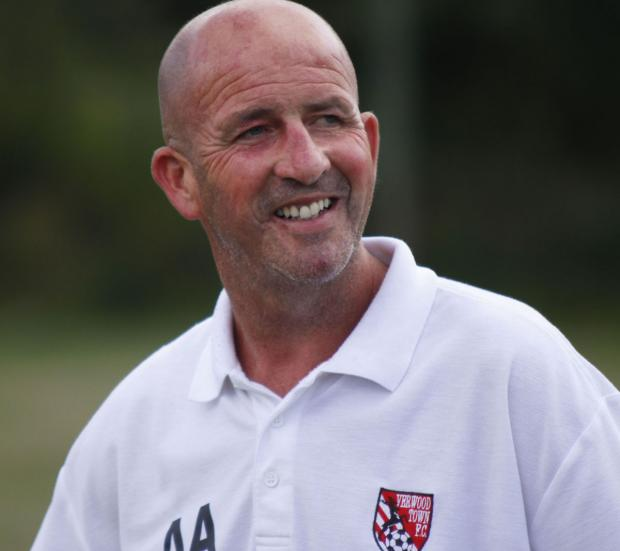 POINT MADE: Verwood Town boss Adie Arnold