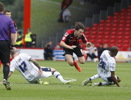 PUSHING ON: AFC Bournemouth's Harry Arter