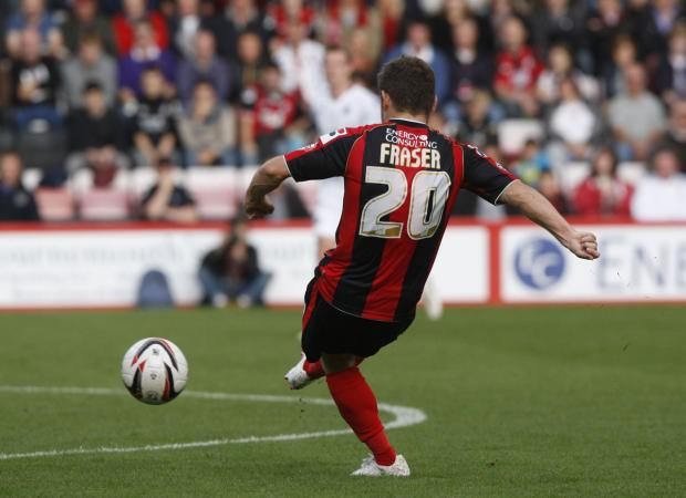 Bournemouth Echo: All our pictures from AFCB v Millwall on Saturday October 5, 2013