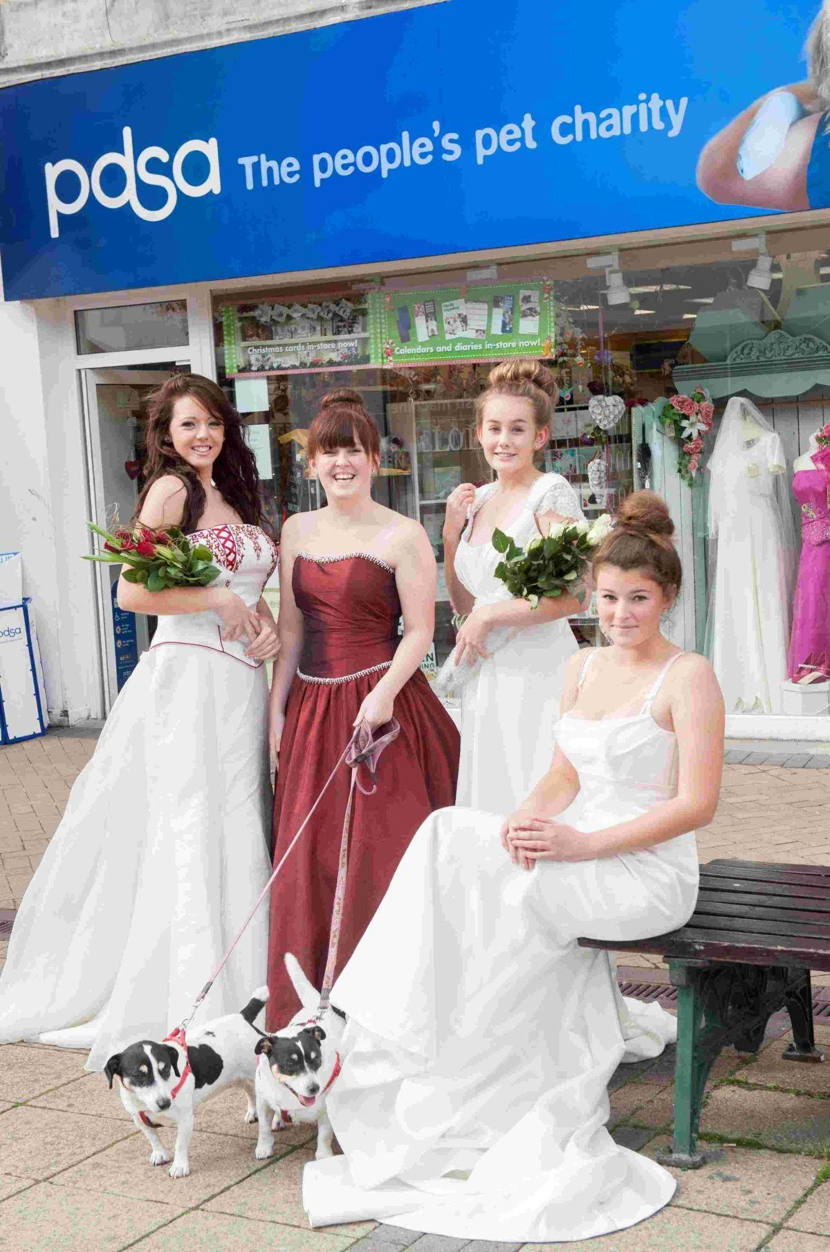 Bridal gowns, bridesmaid\'s outfits and prom dresses among haul ...