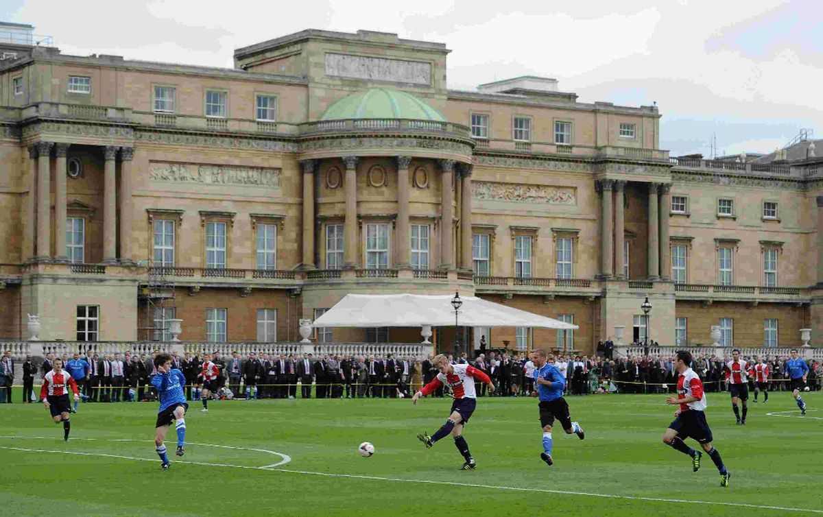 Poole Town Fc Vice Chairman Honoured At Buckingham Palace
