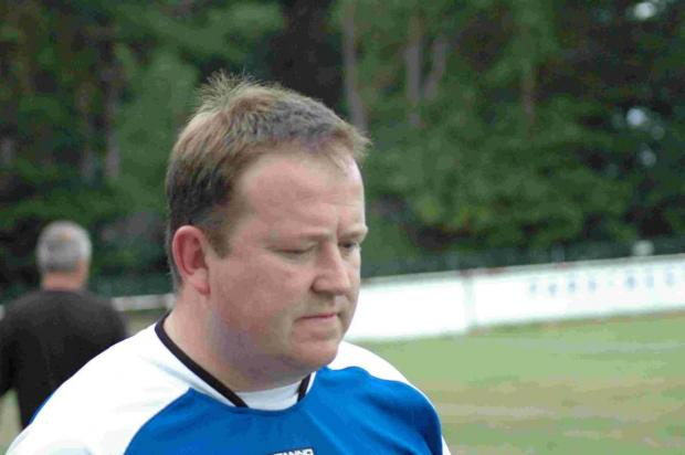 SPIRIT: Bashley's joint-boss John Pyatt