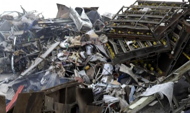 Scrap metal has been seized by police