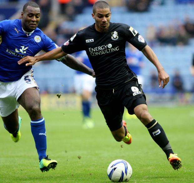 Bournemouth Echo: STRIKER: Lewis Grabban