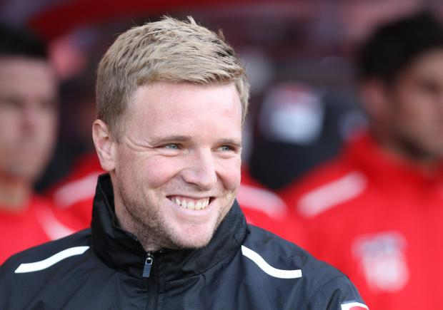 FA Cup fan: Cherries boss Eddie Howe