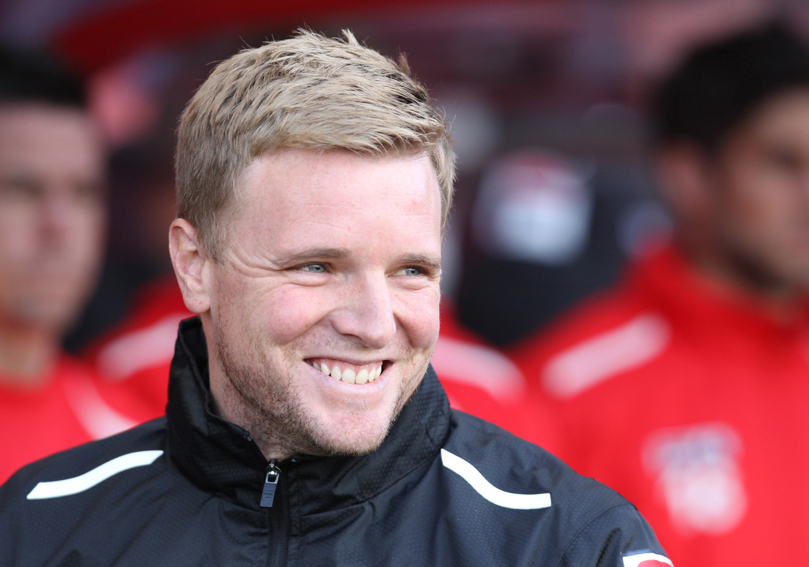 HAPPY: AFC Bournemouth boss Eddie Howe
