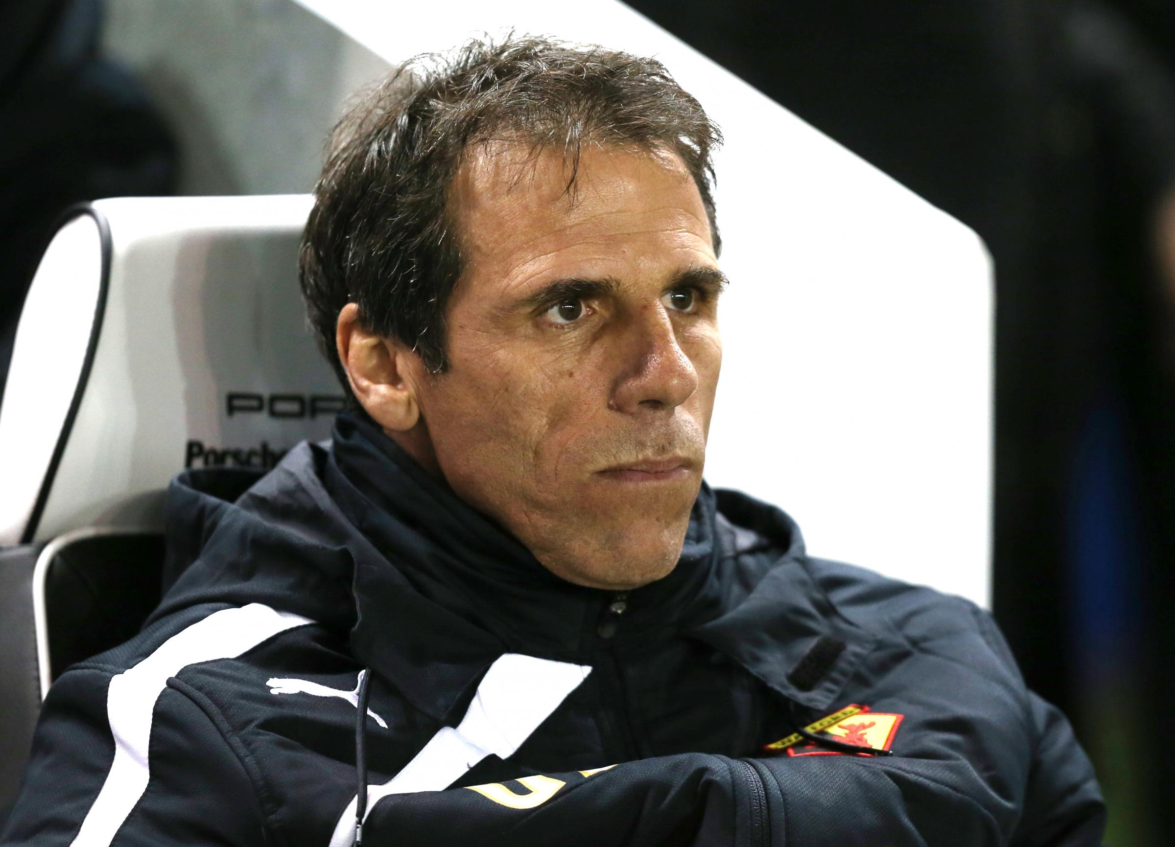 GONE: Gianfranco Zola left Watford in December