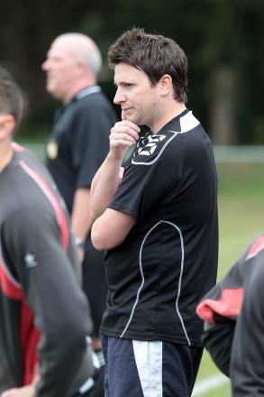 FUMING: Verwood Town boss Carl Poore