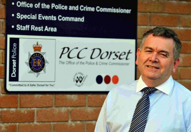 Police commissioner Martyn Underhill wins award for public engagement work
