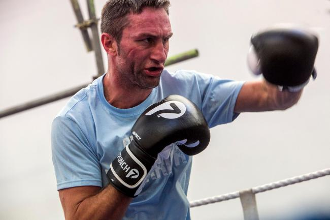 VENUE SEARCH: Boxer Steve Bendall