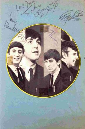 NAME GAME: The Beatles' signatures