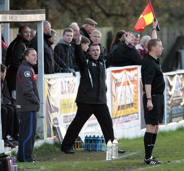 VIEW FROM THE DUGOUT: Magpies boss Steve Cuss