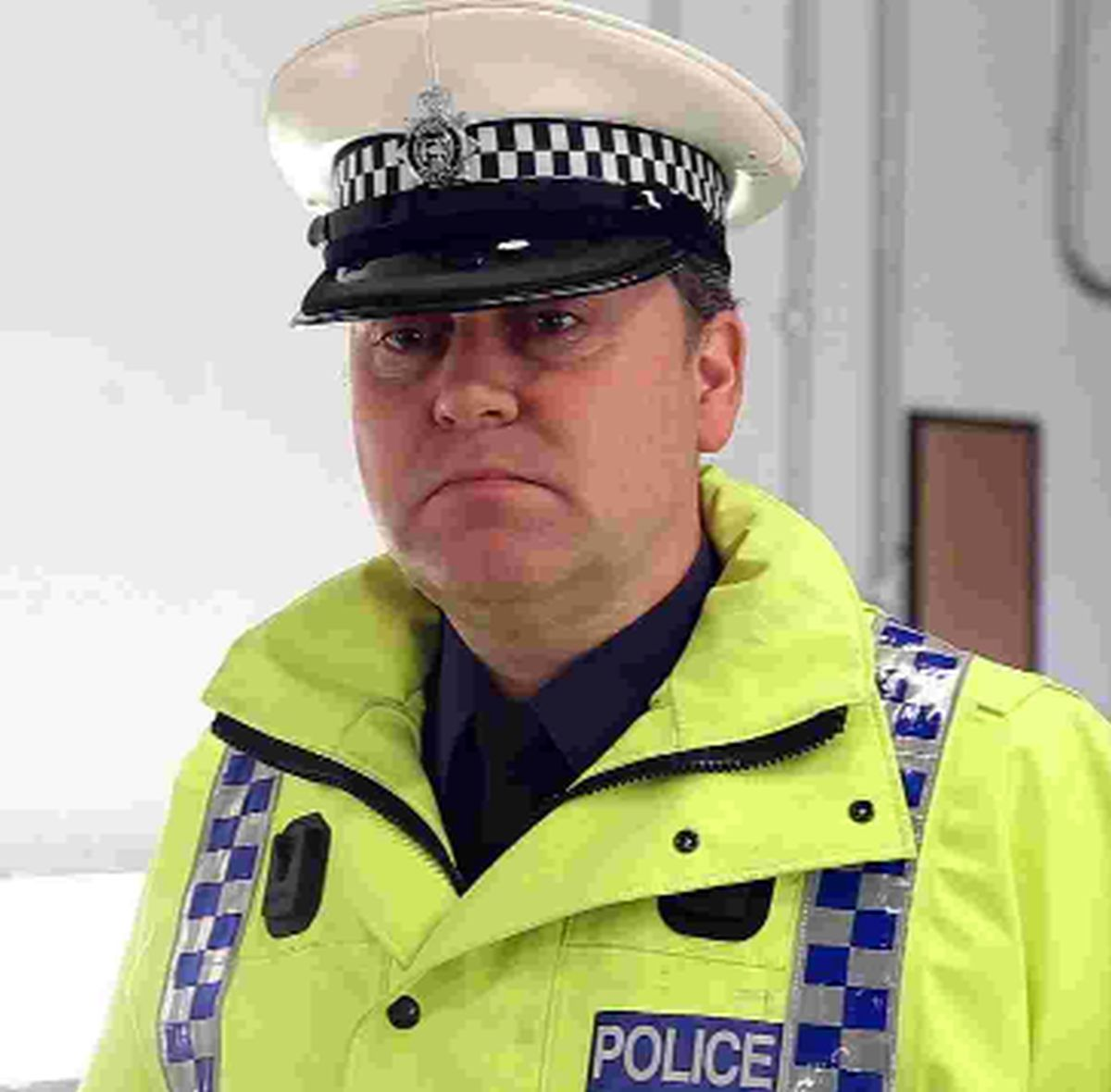 Inspector Matt Butler from Dorset Police's traffic unit
