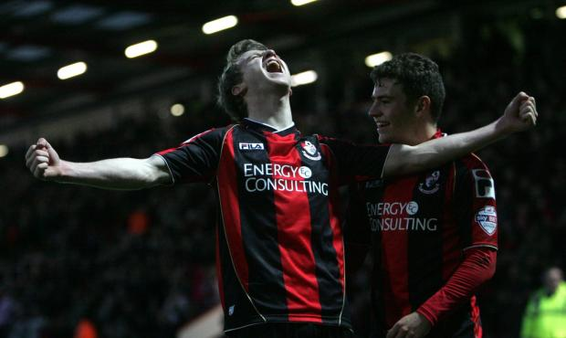Bournemouth Echo: CUP JOY: Eunan O'Kane