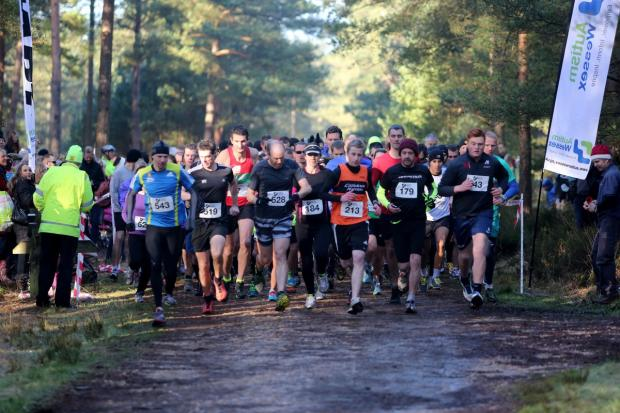 Bournemouth Echo: Pictures from the Autism Wessex 10k run at Moors Valley Country Park
