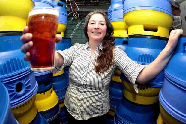 GET BREWING: Jennifer Tingay has launched her own company Southbourne Brewing Limited