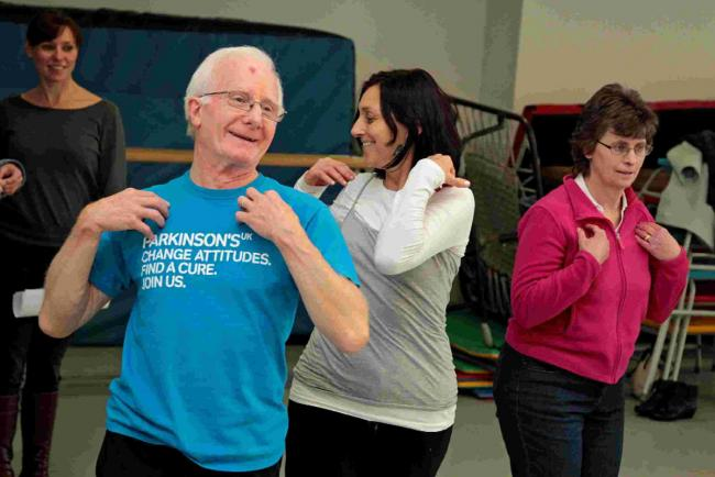Dance therapy: how a class is helping to change the lives of Parkinson's sufferers