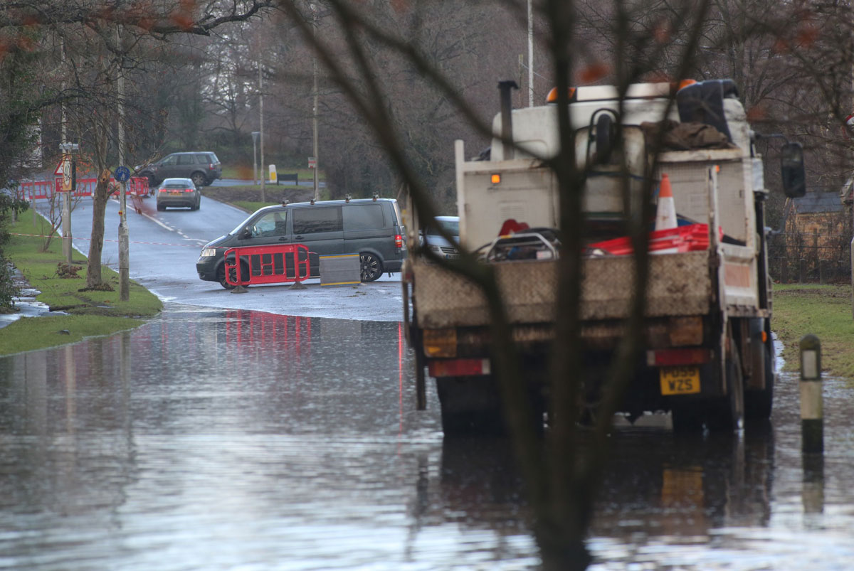 Magna Road flooding mystery solved