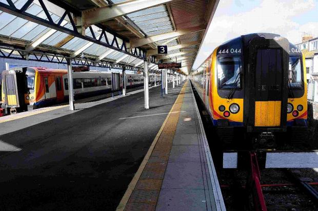 Buses to replace trains on rail lines