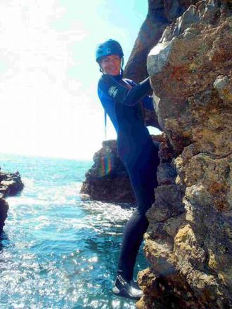 INQUEST: Charlotte Furness-Smith who died whilst coasteering at Tilly Whim caves on the Dorset coast