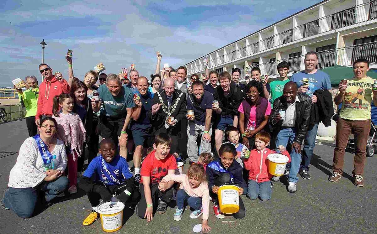 CHARITY: The Mayor's Food Bank Fun Run takes place along Boscombe seafront