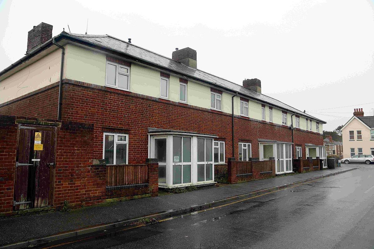 HOMES: Former police homes in Gladstone Road East, Boscombe