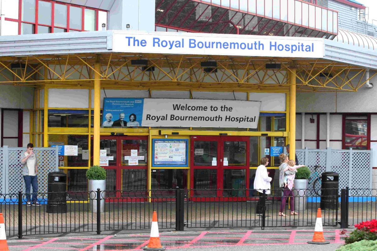 Motorists told to brace themselves for disruption as work on bus hub at Bournemouth Hospital enters final stage