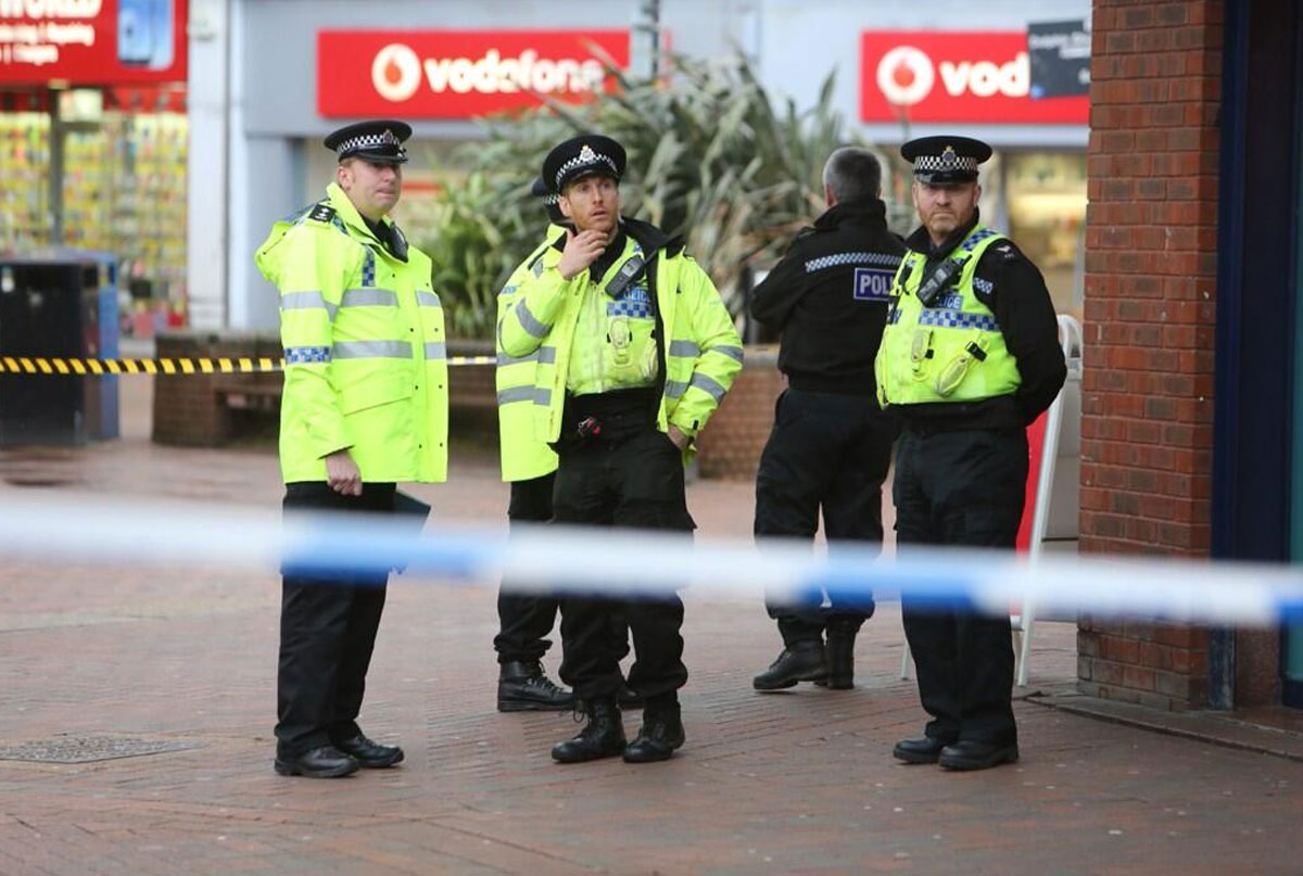 Falkland Square reopened after reports of a 'bomb scare'
