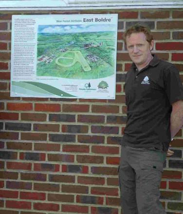 Jim Mitchell, interpretation officer at the New Forest National Park Authority
