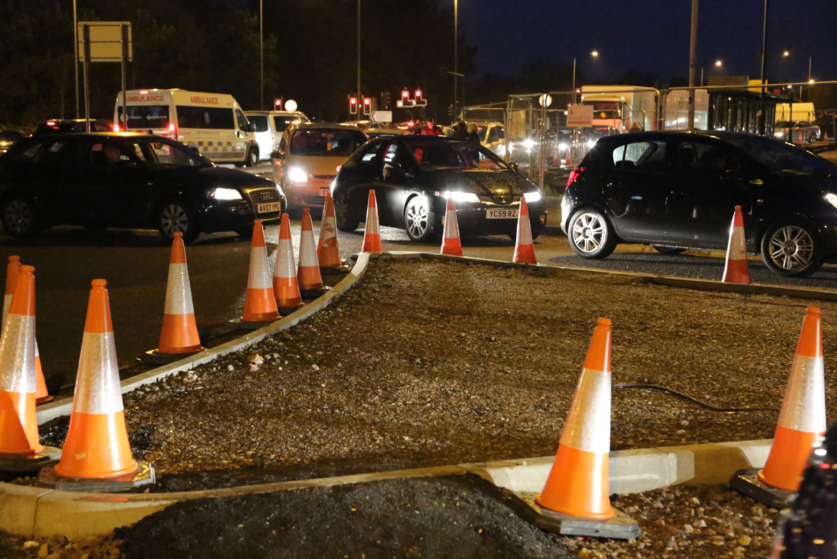 Drivers stuck in traffic for up to two hours at Bournemouth Hospital