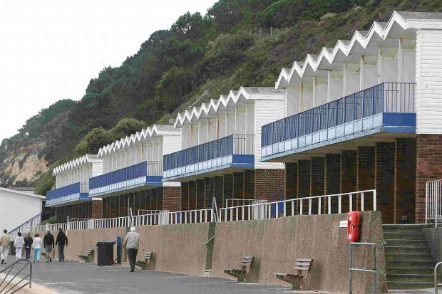 Bournemouth Echo: SIGN UP: Poole Beach Huts at Branksome Chine.