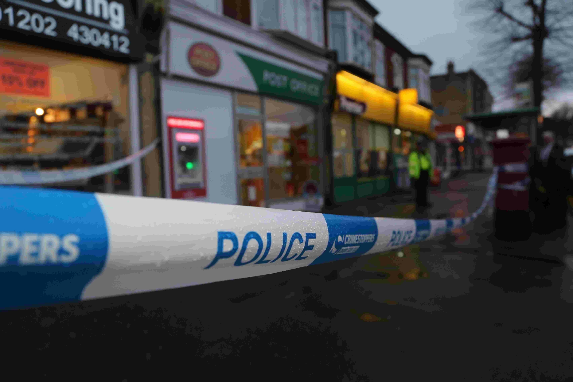 Handgun used in armed Post Office robbery where raiders stole £300