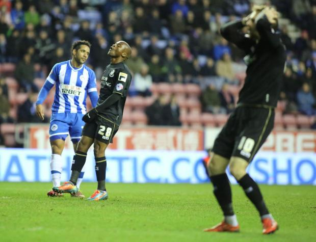 FRUSTRATED: AFC Bournemouth striker Tokelo Rantie