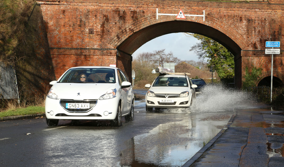 Stony Lane partially reopened following floods